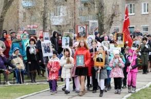 """Торжественный митинг """"Память сердца"""", посвящённый Великой Победе."""