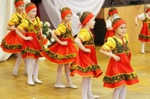 Отчётный концерт хореографических коллективов