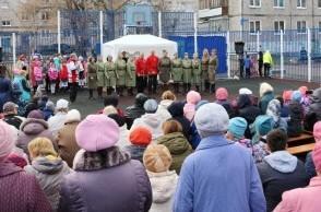 Праздничные мероприятия в честь 73 годовщины Победы Советского народа в Великой Отечественной войне.